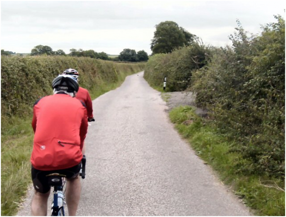 Cycling in the UK (creative commons)
