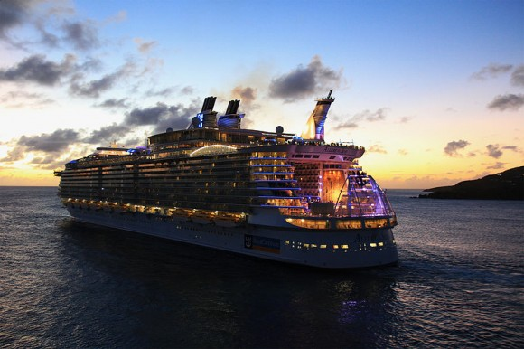 Where to Find the World's Biggest Cruise Ships