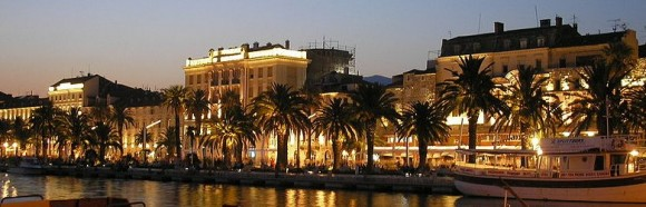 Split, Croatia at Dusk by Michael Angelkovich (Creative Commons)