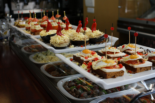 Tapas Bar in Murcia by Grey World via Flickr (Creative Commons)