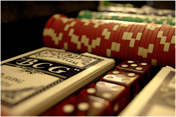 Poker chips ( creative commons)