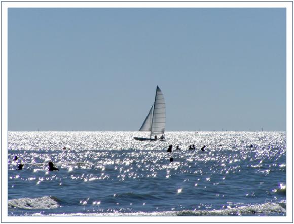 Bibione Beach, Italy ( creative commons)