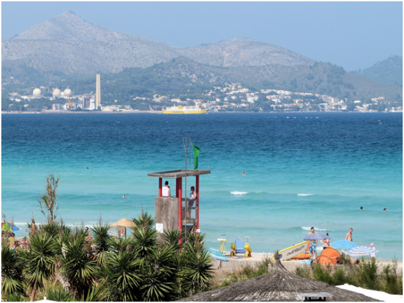 Majorca beach ( creative commons)