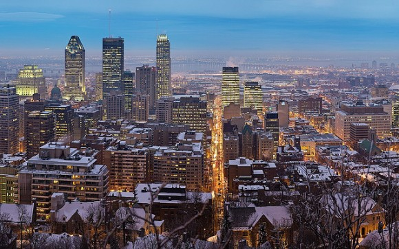 Montreal skyline by Trodel (Creative Commons)