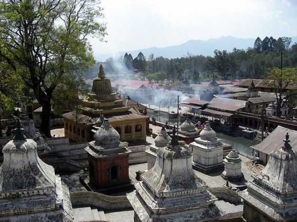 Pashupatinath Temple, Nepal. By Flickr user wonker (Creative Commons)