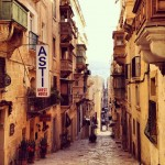 Streets of Valetta Malta (creative commons)