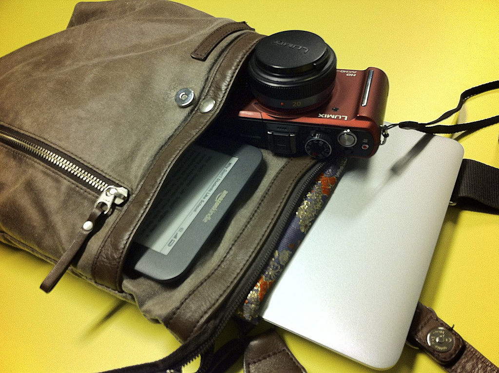 What Essential travel gadgets do you need? ... photo by CC user preetamrai on Flickr